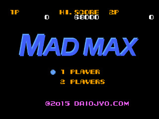 MAD MAX FURY ROAD 8bit Game